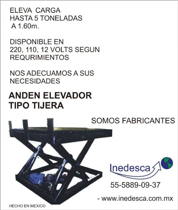 ANDEN NIVELADOR DE TIJERA > ANDEN NIVELADOR DE TIJERA Imagen