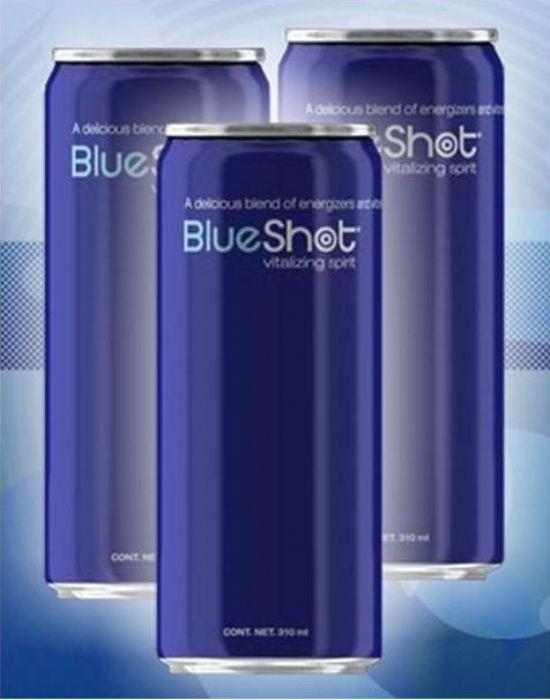 BLUE SHOT BEBIDA ENERGETICA Imagen - Boletin Industrial