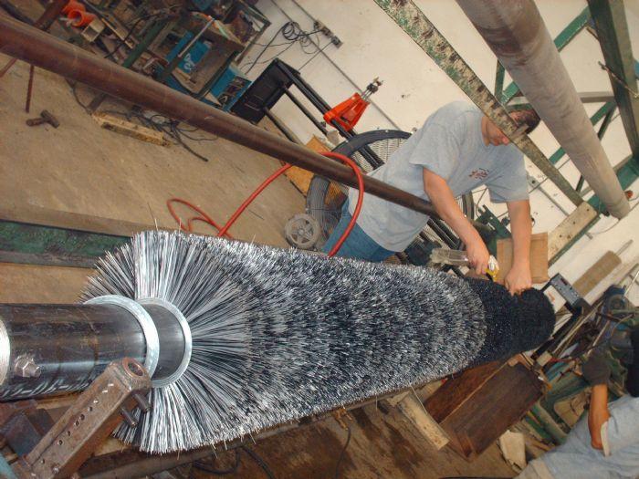 Cepillos industriales de la tira uk