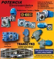 Motoreductores Colineales TRANSCYKO