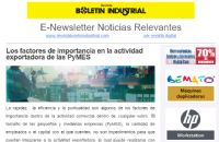 ENEWSLETTER BOLETIN INDUSTRIAL