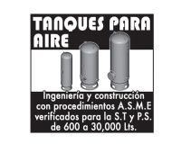Tanques para aire